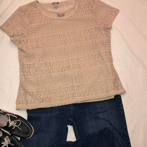 XL CHICOS 3. 2pc SWEATER AND TANK